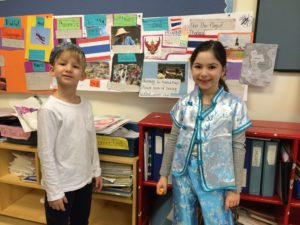 Akiva School Grade 1 Celebrates Global Awareness and Cross-Cultural Sensitivity