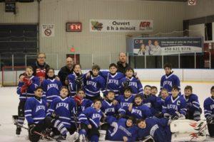 Akiva Hockey Team 2015
