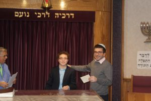 Akiva School's Aaron Widman places first in all of Quebec in Regional Chidon Hatanach competition