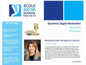 newsletter march 2015