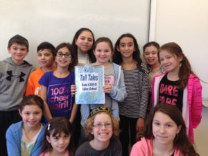 Grade 4 Tall Tales Project for the Montreal Children's Hospital
