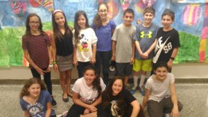 Akiva School Grade 6 Math Team