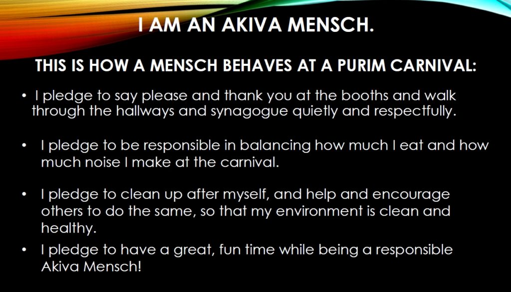 Purim Pledge