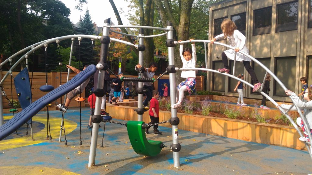 The new Akiva Playground