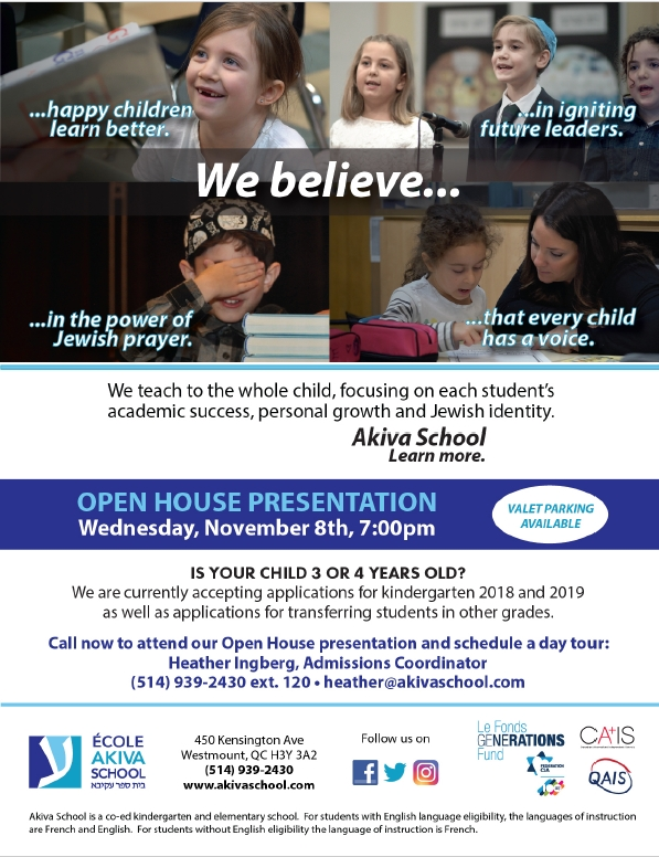 Open House flyer 2017 - english